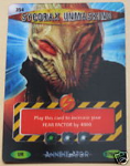 SYCORAX UNMASKING SERIES # 354, Annihilator Series, Battles in Time Ultra Rare UR3D Card- 10603